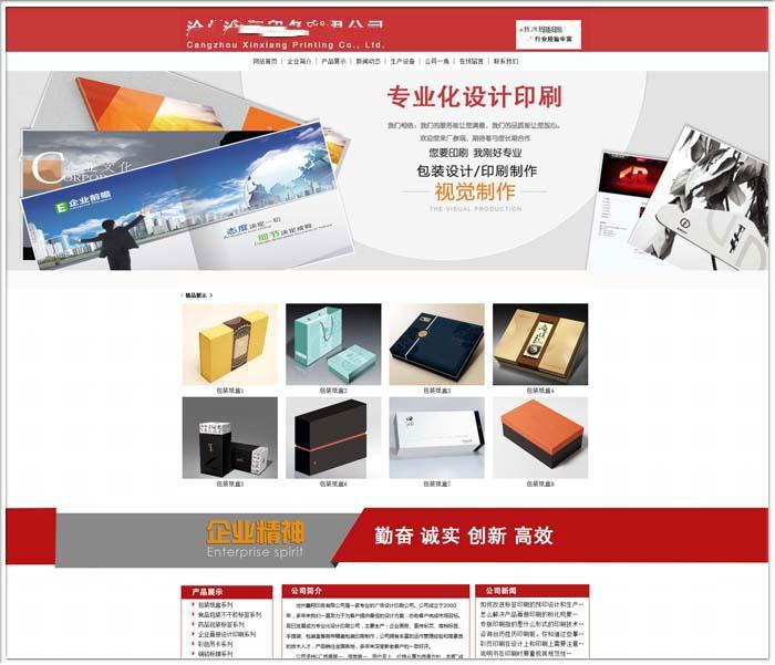 沧州网络公司_优秀乐虎app手机版案例1